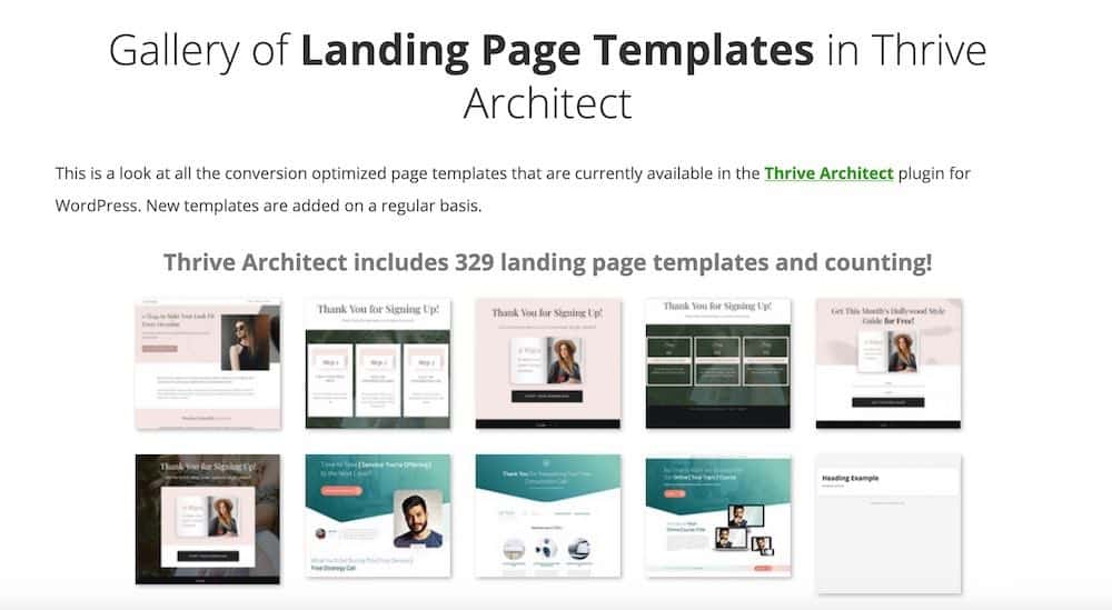 Thrive-Architect-landing-page