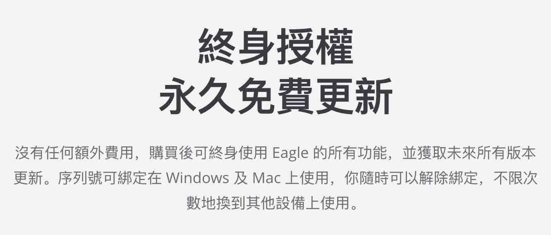 eagle-採買斷制