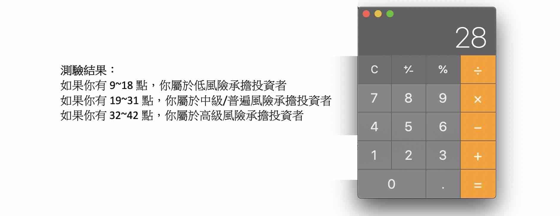 yale-chen-美股被動式投資-風險承擔測驗2