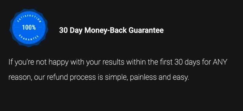 Thrive-Leads 提供 30天無條件退費