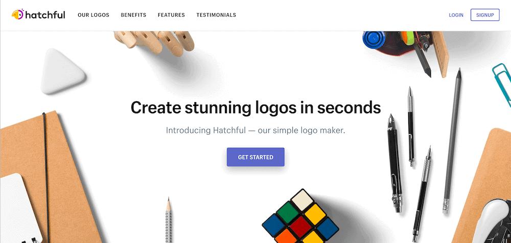 Logo製作工具-Hatchful