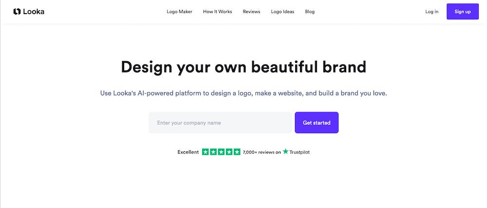 Logo製作工具-Looka
