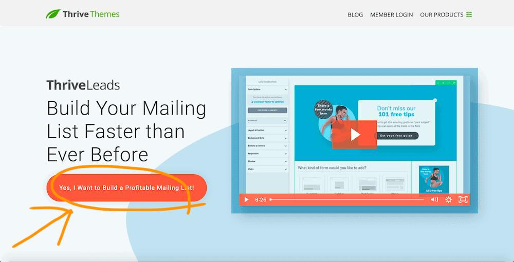 Thrive-Leads-homepage