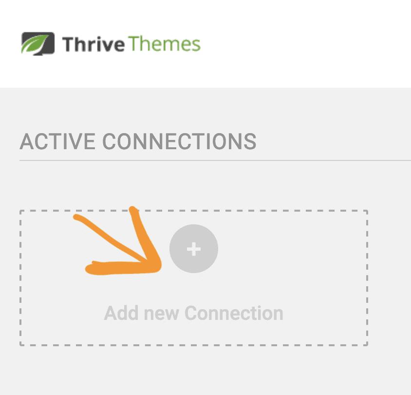 點擊新增 Active Connections