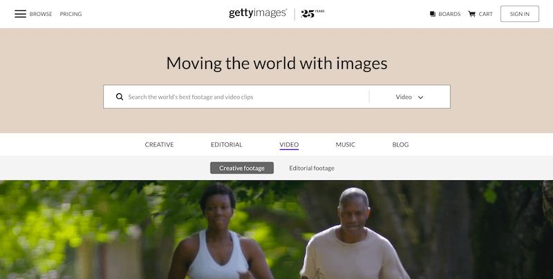 影像素材 Getty Image