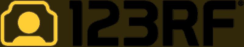 影像素材 123RF logo