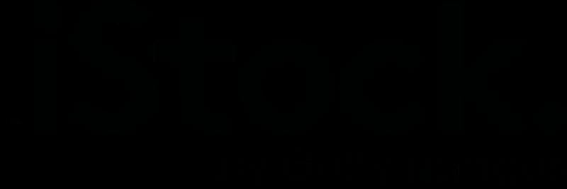 素材庫 istock logo