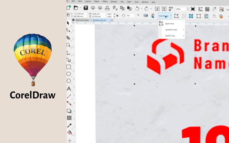 圖像編輯軟體 CorelDraw