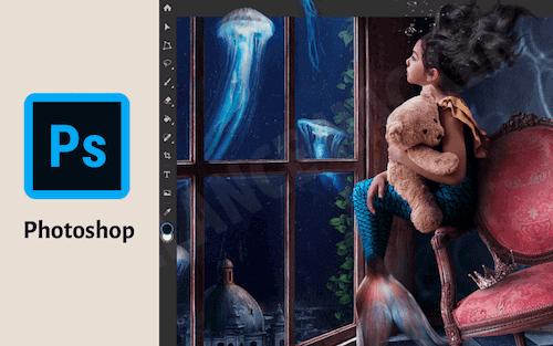 圖像編輯軟體 Photoshop