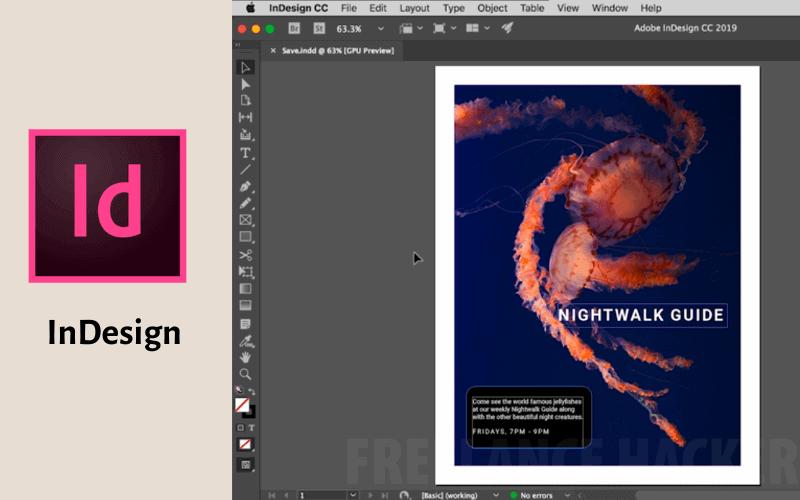 圖像編輯工具 InDesign