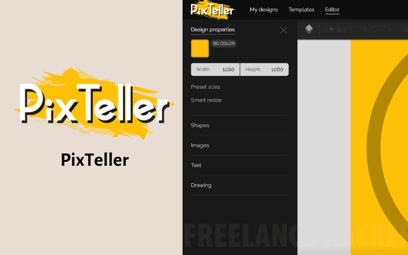 線上製圖工具 PixTeller