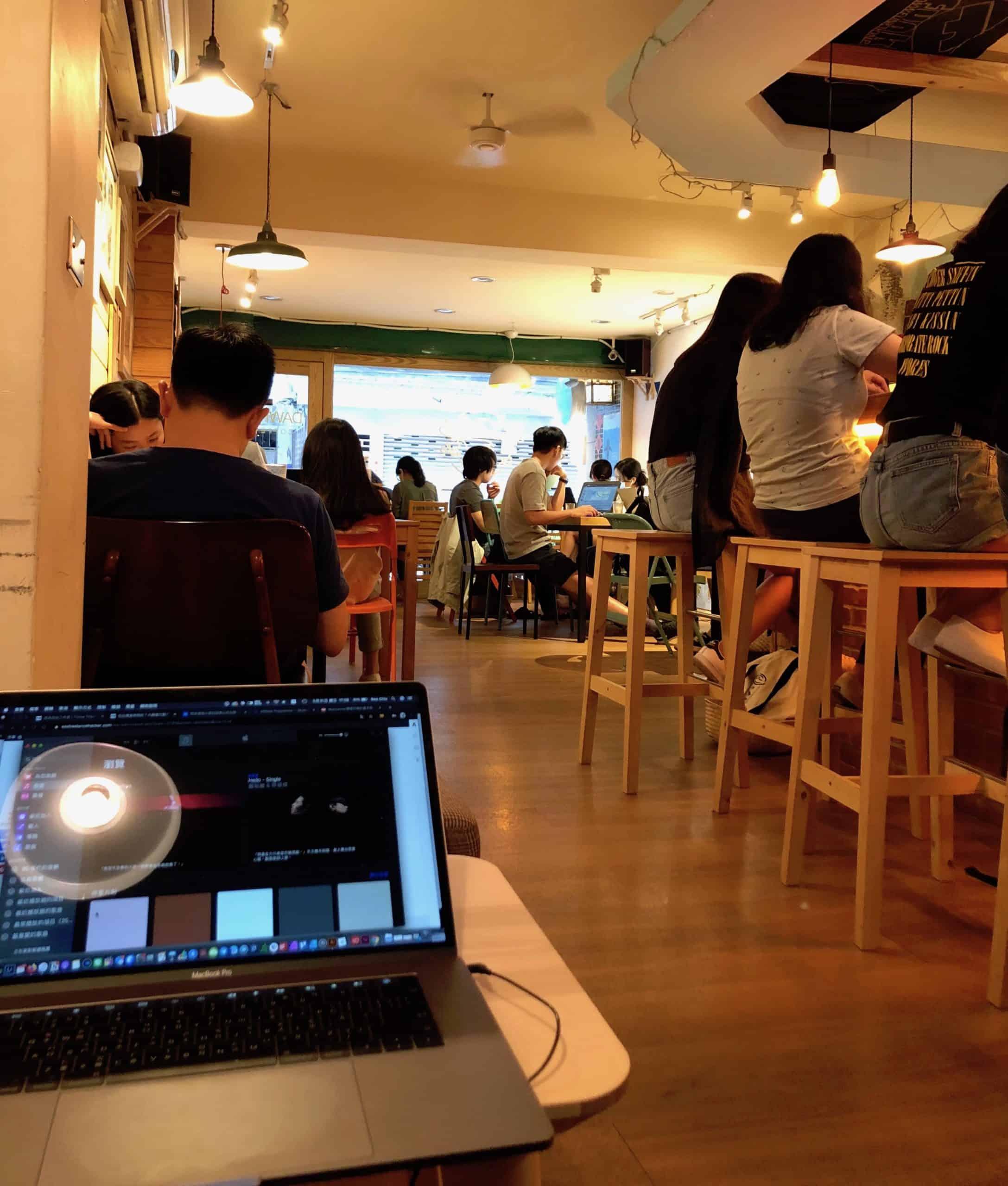 咖啡廳工作