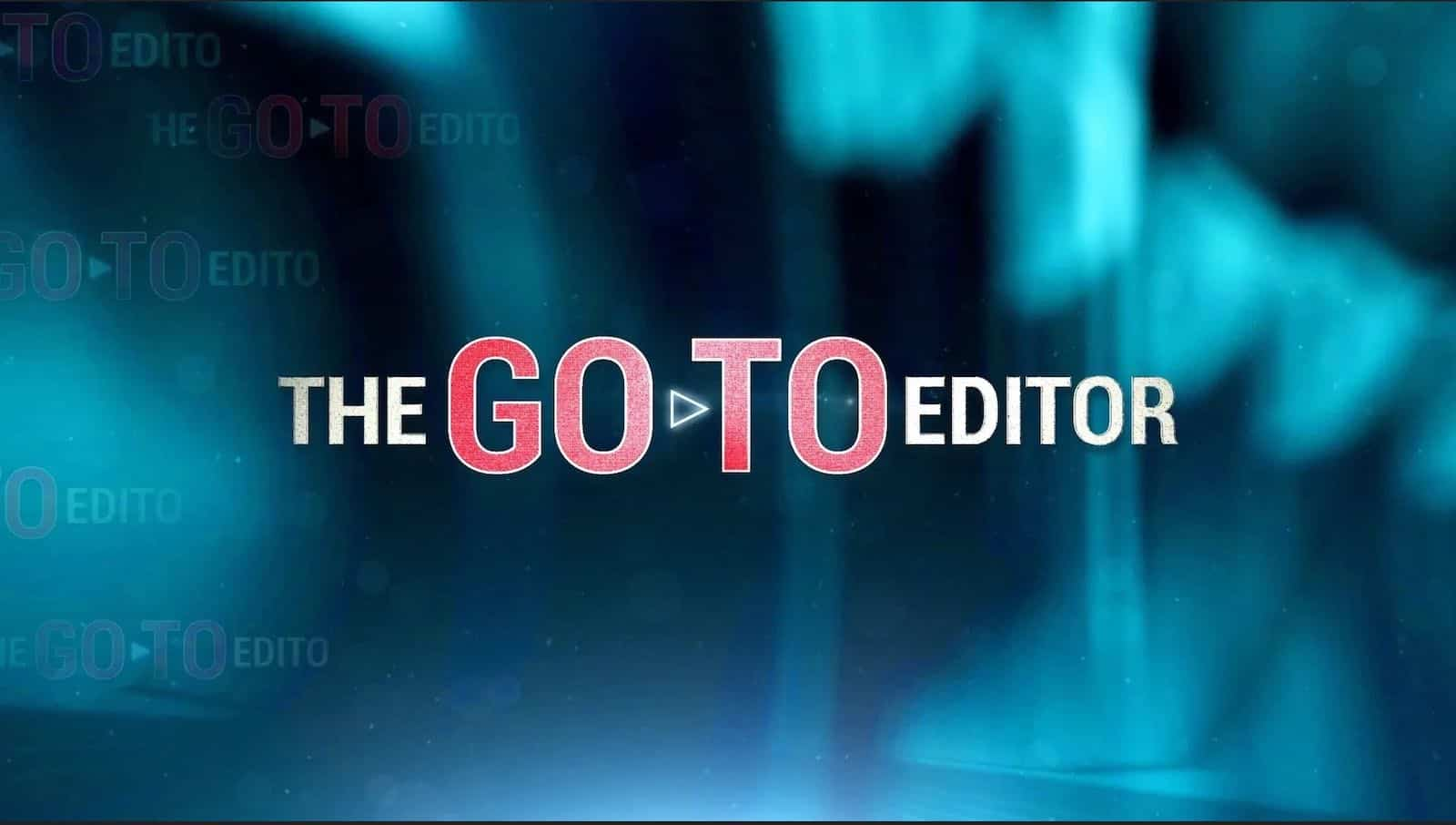 The go-to editor logo