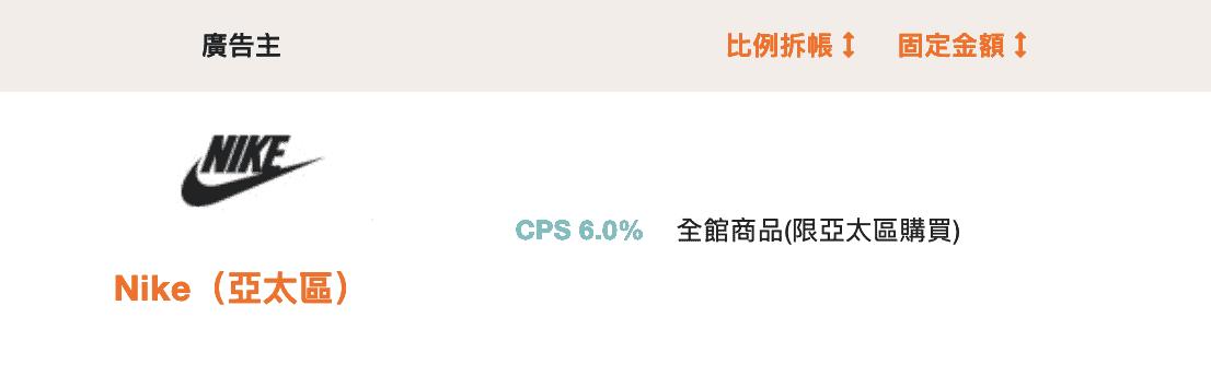 聯盟行銷獎金計算CPS範例
