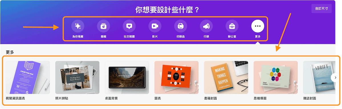 Canva教學_選擇版面